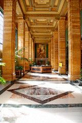 Lobby, Southern California Edison Building, Austin Whittlesey, Allison & Allison Architects 1930-34