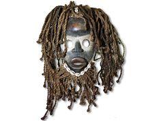 Internationale Antiq. & Kunst WunderschöNen Afrikanische Dan Maske Elfenbeinküste Afrika Ebenholz
