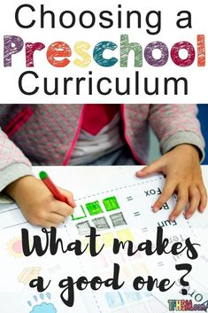 how to choose a good preschool curriculum that is fast and easy to put together Before Kindergarten, Kindergarten Lesson Plans, Kindergarten Activities, Preschool Ideas, Teach Preschool, Fun Learning, Learning Activities, Teaching Resources, Free Homeschool Curriculum