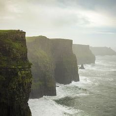 At the end of Europe. Cliffs of Moher