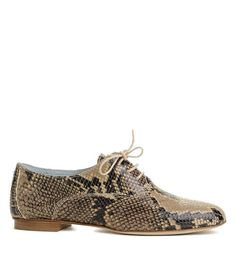ebb9db256ba9 Broques for women in snakeskin print