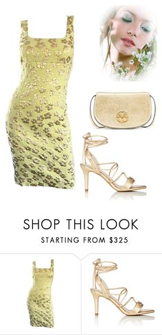 """""""Untitled #1471"""" by kimberlydalessandro ❤ liked on Polyvore featuring Michael Kors, Barneys New York and Tory Burch"""