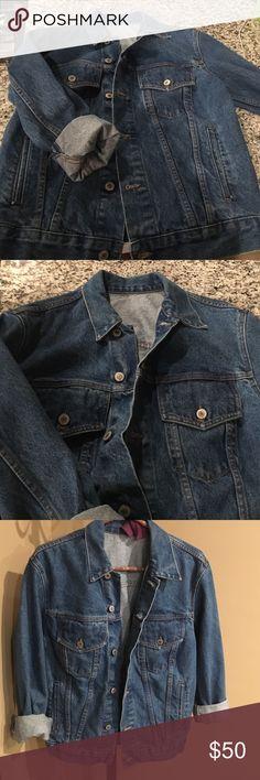 Rare brandy Melville  jean jacket brandy over sized denim jacket / ONE SIZE Brandy Melville Jackets & Coats Jean Jackets