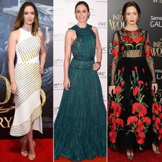 See Emily Blunt's Best Red Carpet Looks, from Michael Kors to Zac Posen  #InStyle
