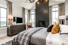 Photo Gallery All About Home Design Kristine Lindgren Master Bedroom Fireplace Ideas