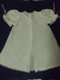 Linen dress hand embroidery from PR