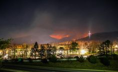 Amid a raging wildfire, a beloved place stands protected.