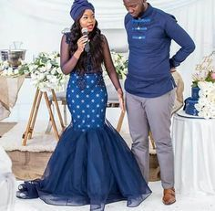 African dresses for women's Shweshwe und Shoeshoe Traditionelle Kleider 2019 ⋆ The Latest Zulu Traditional Wedding Dresses, South African Traditional Dresses, Traditional Outfits, African Bridesmaid Dresses, African Wedding Attire, African Attire, African Wear, African Style, African Weddings