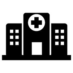 Hospital buildings - Free Buildings icons