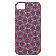 #Purple Tulip Fractal Patterned #iPhone 5 Case $44.95