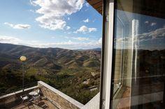 Pousada de Juventude de Foz Coa #fozcoa #balcony #natureview #nature #youthhostels #wheretostay #portugal Nature View, Airplane View, Balcony, Portugal, Windows, Youth, Balconies, Ramen, Window