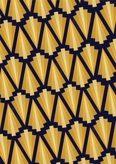 brielleus:  Art-deco pattern                                                                                                                                                                                 More