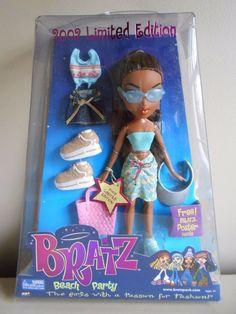 Bratz Beach Party 2002 Limited Edition Sasha | eBay