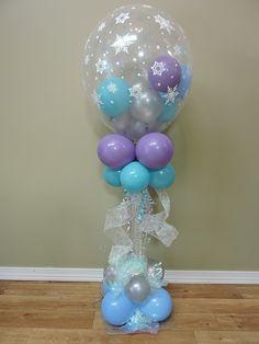 Frozen Balloon Decor