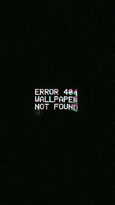 Erro 404 wallpaper não encontrado