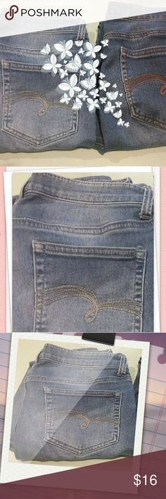 Girls Justice Denim Jeggings Girls Justice Denim Jeggings Faded Blue Stretch Jeans 2 pair bundle size 16 1/2 Justice Bottoms Jeans