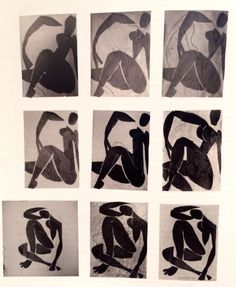 I know everyone has been raving about the Matisse Cut-Outs exhibition which is currently showing at Tate Modern but I have to admit I wasn't that tempted. Matisse isn't one of my favourite artits; Henri Matisse, Matisse Cutouts, Unger Fashion, Silhouette, Art Drawings, Figure Drawings, French Artists, Box Art, Figure Painting
