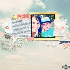 Picnic With You {Main Kit Only} by maggie holmes at Studio Calico Summer of 69
