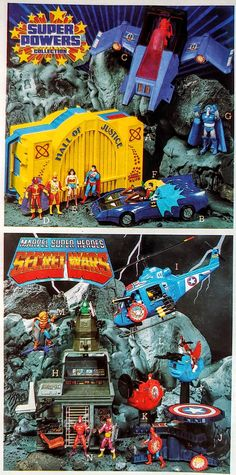 Retro Toys, Vintage Toys, 80 Toys, Toys In The Attic, Toy Catalogs, Super Powers, Childhood Memories, Comic Book, Fountain