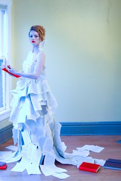 Couture book dress! Aline :)