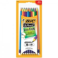 BIC Consumer Products USA has introduced BIC Xtra-Fun, the only No. 2 pencil with two-toned color barrels in the U.S. market.