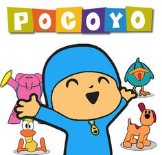 Pocoyo 100 clipart CDR images, vector graphics free mail