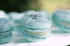 wedding Macarons | 14 Breakfast at Tiffany's Macarons