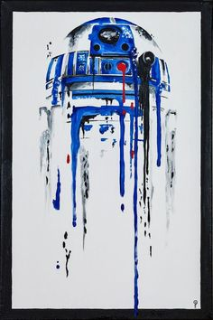 Painting of R2-D2