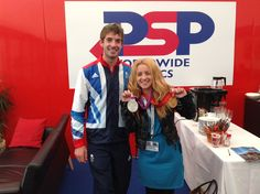 PSP Southampton Boat Show  Laura Downton and Zac Purchase  www.carswellgould.co.uk