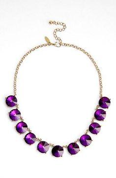 Beautiful, statement necklace.