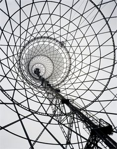 I heart architecture that makes clever patterned photos Richard Pare, Shabolovka Radio Tower, 1998