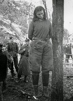 Lepa Svetozara Radic (1925-1943) partisan, age 17, murdered for shooting at German soldiers.
