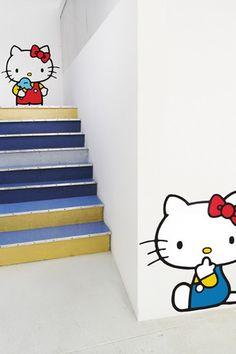Blik - Hello Kitty Wall Decals (Super Cute Set 1)