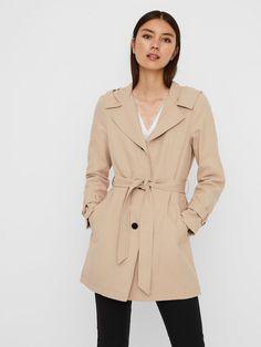 Hooded wrap jacket | VERO MODA Warm Boots, Models, Hoods, Hooded Jacket, Female, Coat, Fitness, How To Wear, Jackets
