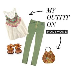 Low-Key Summer, created by herwitsend on Polyvore
