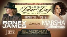 Sep 1 2016.  Augusta GA #exploregeorgia Labor Day Jazz Weekend kickoff