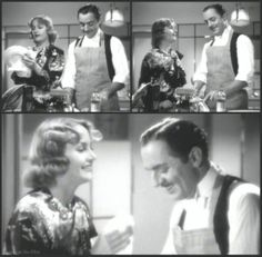 My Man Godfrey: William Powell and Carole Lombard Old Hollywood Movies, Golden Age Of Hollywood, Classic Hollywood, Classic Movie Stars, Classic Movies, Mr Deeds, Forgotten Man, Nick And Nora, William Powell
