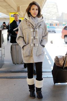Comfortable and warm outfit