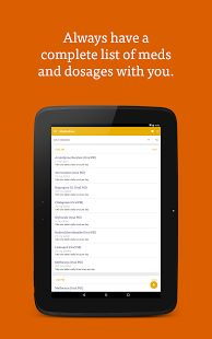 CareZone - always have meds list with you!