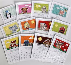 2016 Calendar (Critters) by Michele Boyer