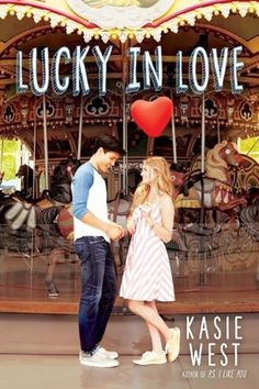 Lucky in Love | Kasie West | July 25th 2017 | In this new contemporary from YA star Kasie West, a girl who wins the lottery learns that money can cause more problems than it solves, especially when love comes into the picture.  #ya #2017