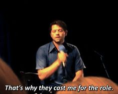 Young fan : My question is, are you a real angel? NJCon 2014