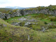 Dun Beag Broch, Isle of Skye, Scotland.