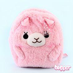 Pastel Alpacasso Backpack - Pink