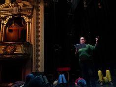 """Atelier Musique de Chambre au Théâtre! Le public est invité à apporter son oreiller pour découvrir le chant baroque autour du spectacle """"Peau d'âne"""" de l'ensemble Ma Non Troppo"""