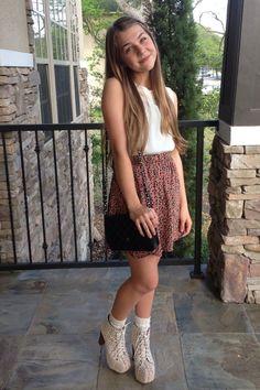 Olivia O. of Texas Goes Glam and Girly | TeenVogue.com