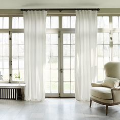 "Cotton Sateen Drape in Ivory - 50"" x 84"" 