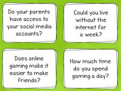 Conversation Questions, 180 cards by EasyBreezyESL Teaching Materials, Teaching Ideas, Conversation Questions, Teaching Posters, Time Games, Cycle 3, Esl, Live For Yourself, Card Making