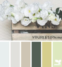 Flora tones color palette by design seeds. Colour Pallete, Colour Schemes, Color Combos, Color Palettes, Design Seeds, Colour Board, Colour Colour, Color Swatches, Color Of Life