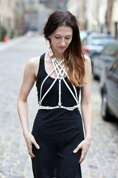 zana bayne harness ~ StyleOnTheCouch x thatjenesaisquoi